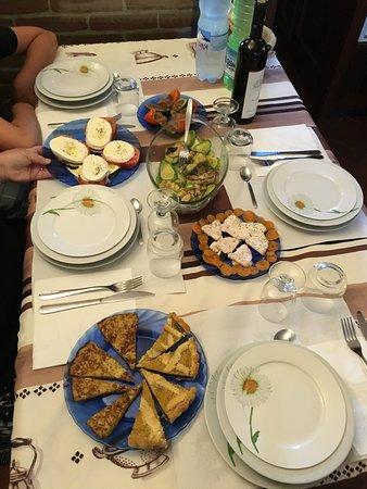 Bed & Breakfast La Valle: Un très bel assortiment d'Antipasti !