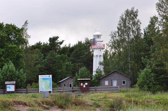 Mersrags, Latvia: Около маяка