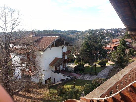 Planeta Cumbrecita Hostel : Vista desde la habitación privada F