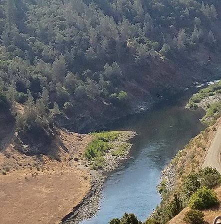 Our view as we hike near the North Fork of the American River, Auburn CA