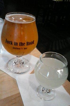 Mukwonago, WI: Pilsner and lemonade, make your own radler