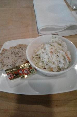 Mukwonago, WI: Excellent caraway salted rye and cole slaw