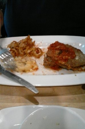 Mukwonago, WI: What's left of the meatloaf dinner, awesome