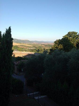 San Quirico d'Orcia: 朝の眺望です