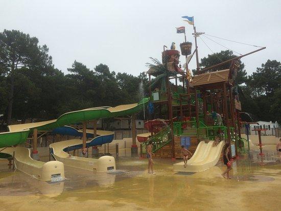 Camping de la Cote d'Argent: la zone d'éclate pour les enfants et les adultes