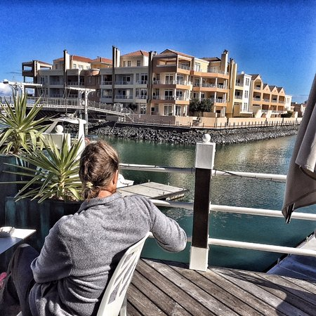 Gordon's Bay, Zuid-Afrika: what a great atmosphere
