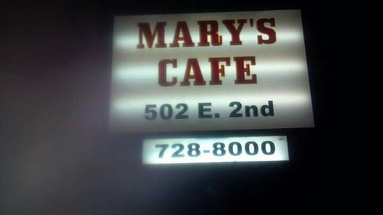Colorado City, TX: Mary's Cafe