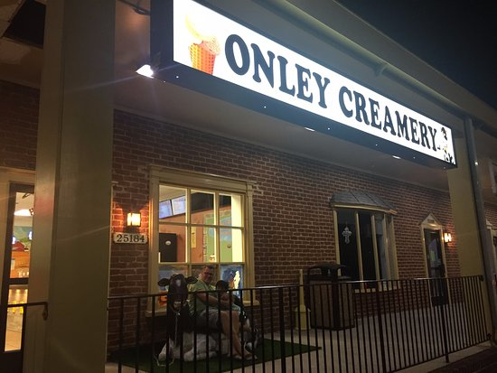Onley, VA: Outside sign