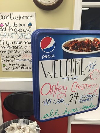 Onley, Вирджиния: Sign