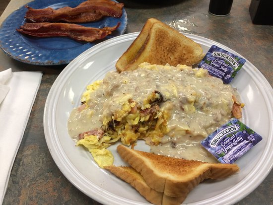 Enterprise, AL : Scrambler platter with Ham and cheese at $6.99. Awesome!