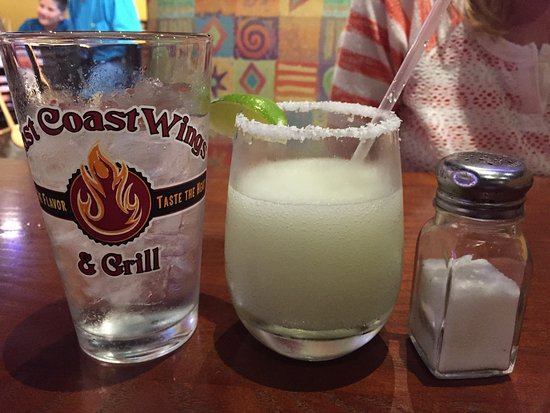 Pleasanton, TX: I guess the margarita has shrunk!!!! What a disappointment! This is Texas nor the east coast we