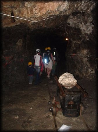 Saint-Fabien, Kanada: In the mine