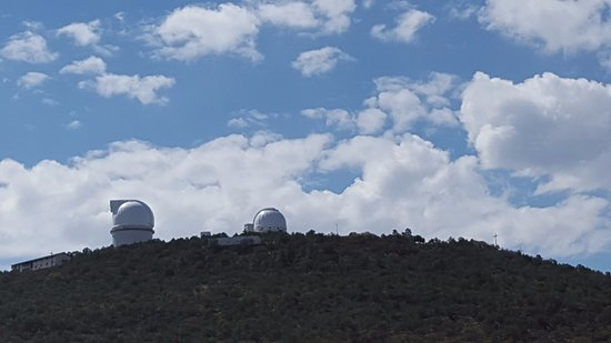 McDonald Observatory: Good view driving up to the Observatory