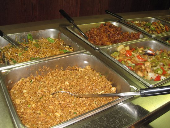 Shoreview, MN: Some of the buffet choices