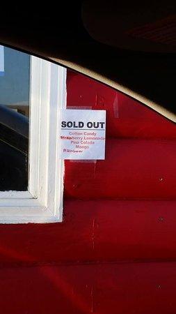 เดลซิตี, โอคลาโฮมา: Sold Out :(