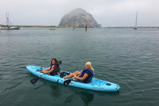 Rock Kayak: Heading out to see the Sea Lions