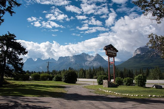Harvie Heights, Canada: Die drei Schwestern im Tageslicht