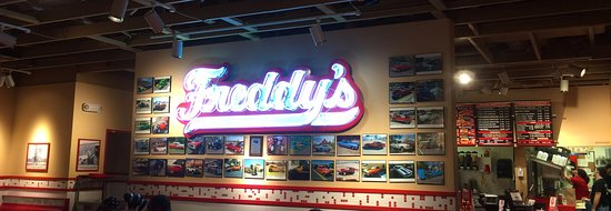 Freddy's Frozen Custard & Steak Burgers: Inside Freddy's in Flagstaff, AZ