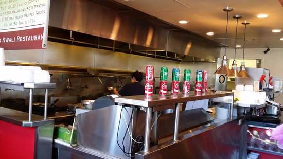 Milpitas, CA: kitchen: open because there's no dirty play