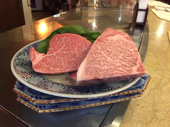 Steak House Restaurant Sho: 霜降りが細かい最高A5ランク