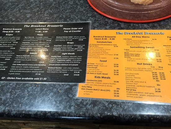 Cowra, Australien: Menus and interior