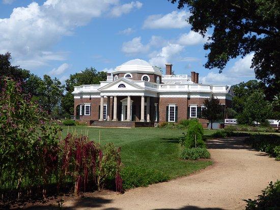 Thomas Jeffersonu0027s Monticello: Monticello Von Der Gartenseite