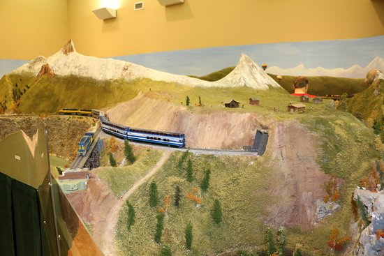 ‪Tanana Valley Model Railroad Display‬