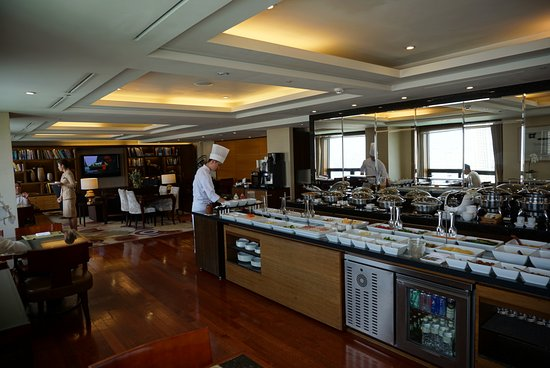 Lotte Hotel World: Club Lounge