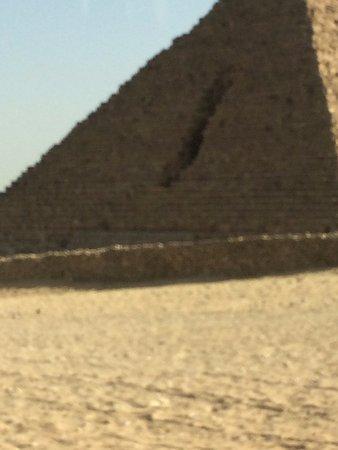 Kefre, the second pyramid: casi la tocamos