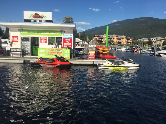 Sicamous, Canada: Check out our new SeaDoo 300's