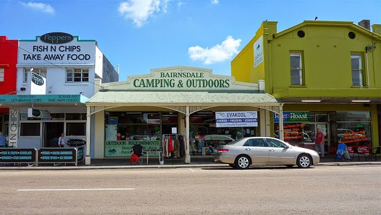 ‪Bairnsdale Camping and Outdoors‬