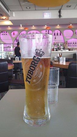 Dimona, Israel: הבירה הגיעה מיד, קרה וצוננת