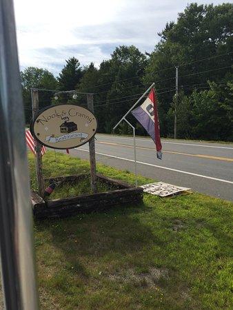 Baileyville, ME: Street sign