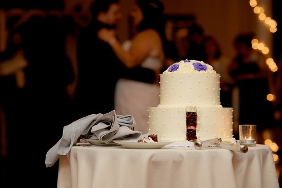 Falmouth, ME: My wedding cake  (Made by European Bakery)