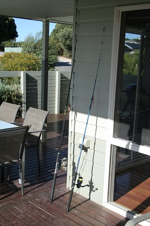 Marion Bay, Australia: some fishing gear avilable