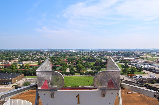 b4eaa30c6f7955 View from the Ferris Wheel on Top of the Roof - Picture of City ...