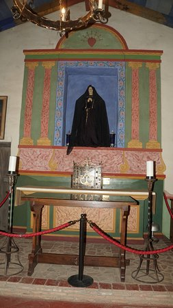 Soledad, CA: Our Lady of Sorrows (for whom the Mission was named)