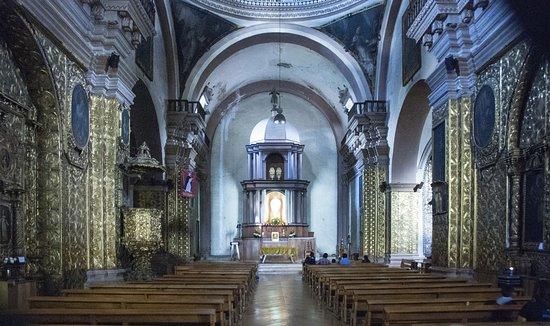 Templo de Santo Domingo: Het interieur