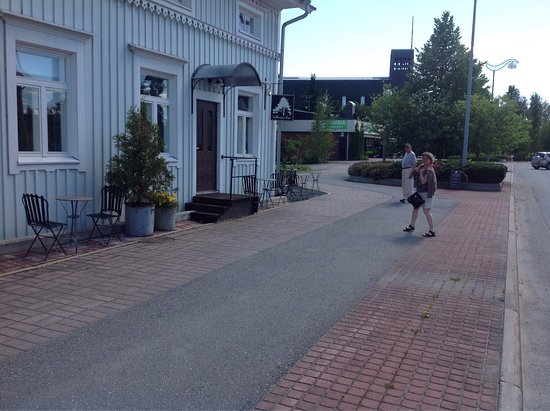 Kauhajoki, Finland: Entrence to the cafe. Sisäänkäynti kahvilaan!