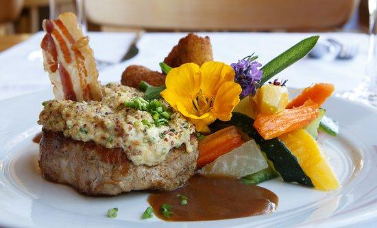 Heiligenschwendi, Sveits: leckeres Essen
