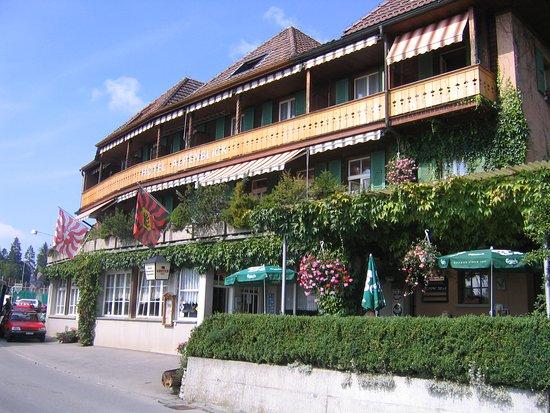Heiligenschwendi, Suíça: Aussenansicht Hotel