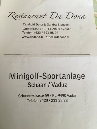 Minigolf-Sportanlage Schaan/Vaduz: photo1.jpg