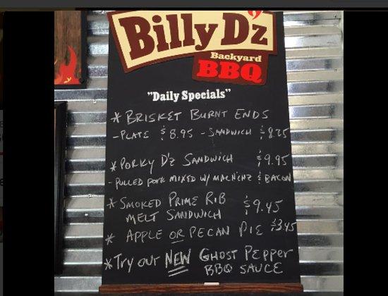 Newbury Park, Kaliforniya: Daily Special Board