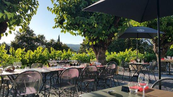 d2530981145bc5 La terrasse - Picture of Le Calaber By PB