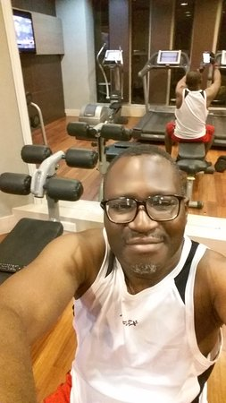 The Moorhouse Ikoyi Lagos - MGallery Collection: At the hotel gym. Very functional