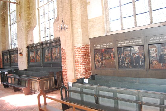 Wolgast, Germany: Totentanz in St Petri Kirche