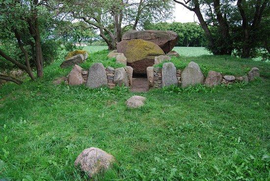 Il bellissimo dolmen vicino a Rerik