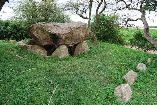 Il dolmen vicino a Rerik