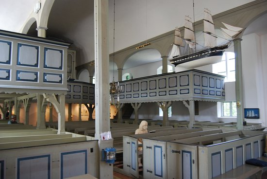 Ostseebad Prerow, Germany: L'interno di Seemann Kirche