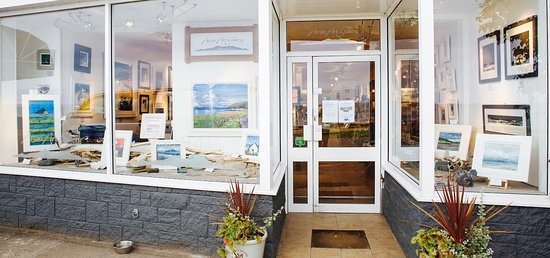 Whiting Bay, UK: Arran Art Gallery